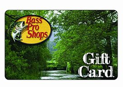 Bass Pro Shop Gift Card | badcarcredit.com