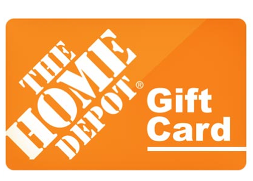 The Home Depot Gift Card | badcarcredit.com